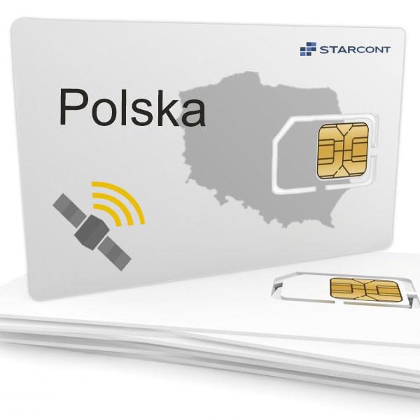 Pakiet Telematyczny Polska - ( koszt miesięczny 25 pln ) płatny z góry za 12 miesięcy