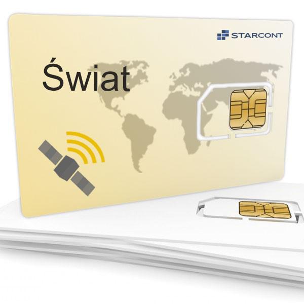 Pakiet Telematyczny Świat - ( koszt miesięczny 80 pln ) płatny z góry za 12 miesięcy